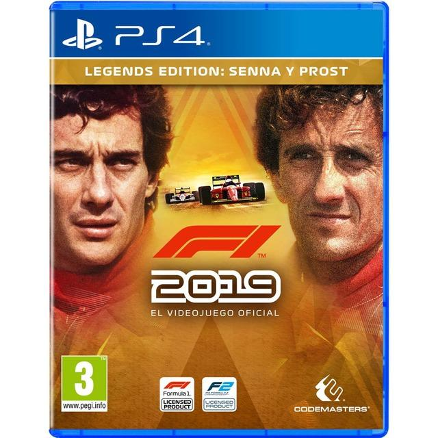 PS4 F1 2019 LEGENDS EDITION
