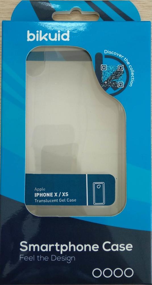 Bikuid Funda Gel Case Transparente iPhone X/XS