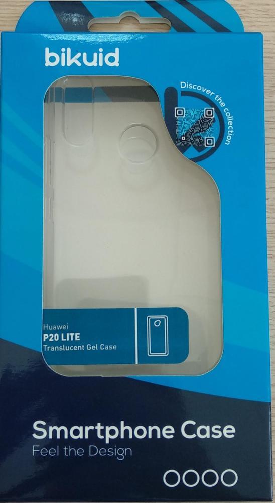 Bikuid Funda Gel Case Transparente Huawei P20 Lite