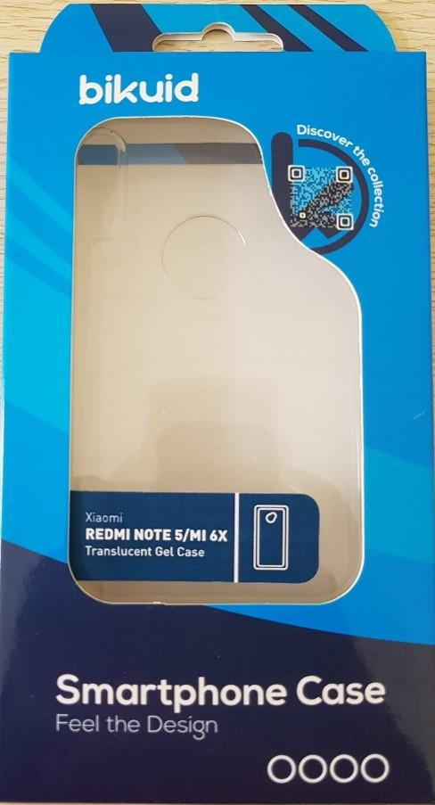 Bikuid Funda Gel Case Xiaomi Redmi Note 5 Transparente