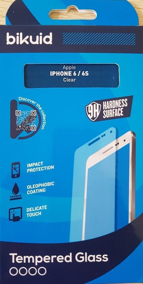 Bikuid Protector Pantalla cristal Templado Apple iPhone 6/6s