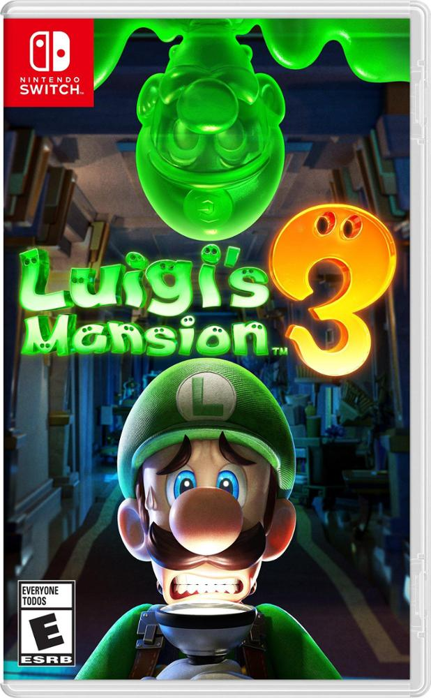 NINTENDO JUEGO SWITCH LUIGI'S MANSION 3