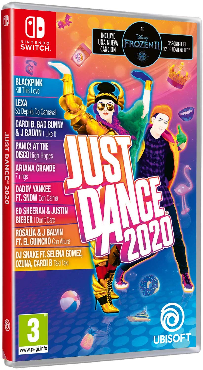 NINTENDO JUEGO SWITCH JUST DANCE 2020