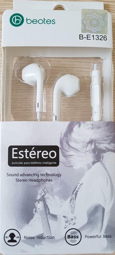 Beotes Earpods Auriculares B-E1326 para Iphone/Ipad/Ipod