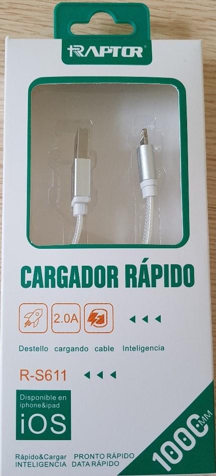 Varios Cable para Iphone Ipad 2.0A