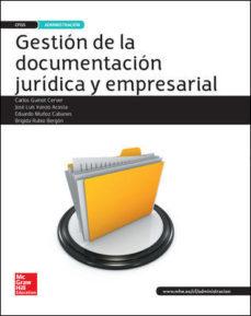 McGRAW HILL GESTIÓN DE LA DOCUMENTACIÓN JURÍDICA Y EMPRESARIAL
