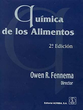 EDITORIAL ACRIBIA QUÍMICA DE LOS ALIMENTOS 2ª EDICIÓN