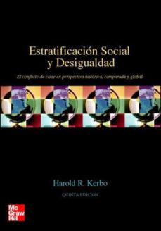 McGRAW HILL ESTRATIFICACIÓN SOCIAL Y DESIGUALDAD