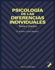 PIRÁMIDE PSICOLOGÍA DE LAS DIFERENCIAS INDIVIDUALES. TEORÍA Y PRÁCTICA