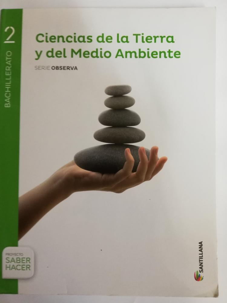 SANTILLANA 2º BCHTO. CIENCIAS DE LA TIERRA Y DEL MEDIO AMBIENTE