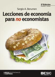 ESIC LECCIONES DE ECONOMÍA PARA NO ECONOMISTAS
