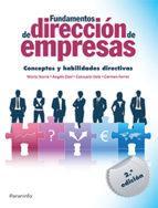 PARANINFO FUNDAMENTOS DE DIRECCIÓN DE EMPRESAS