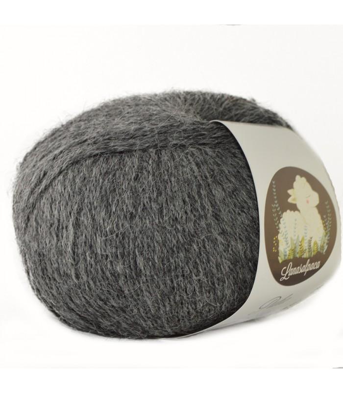 Lanas Alpaca Puha Gris Marengo 5012