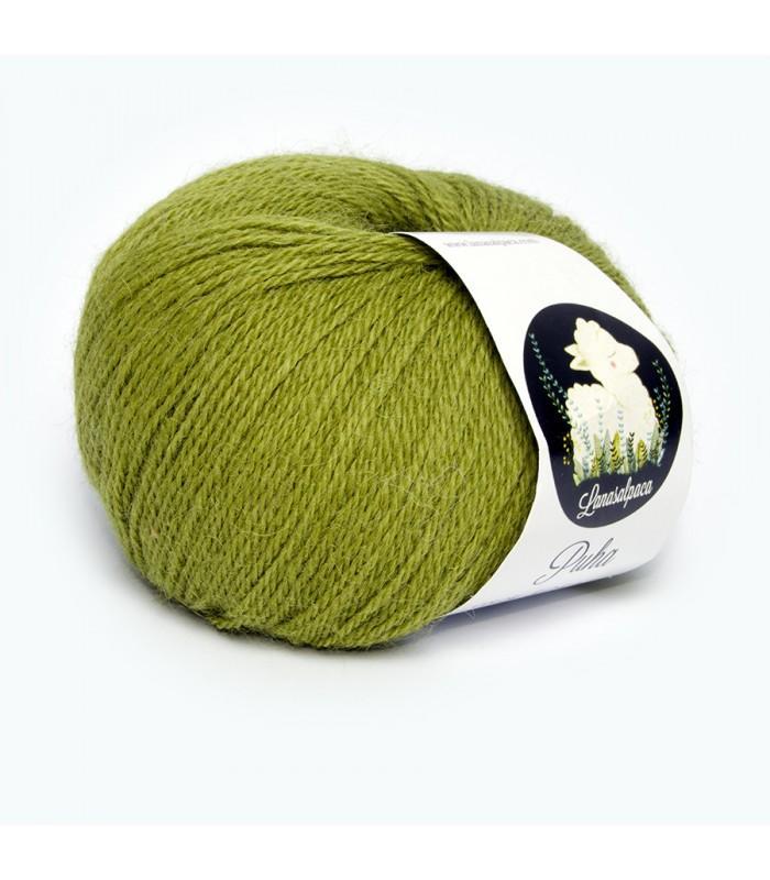 Lanas Alpaca Puha Verde 5041