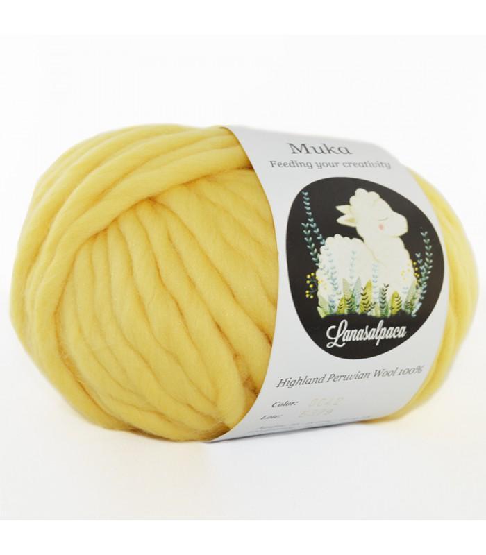 Lanas Alpaca Muka Amarillo 8042