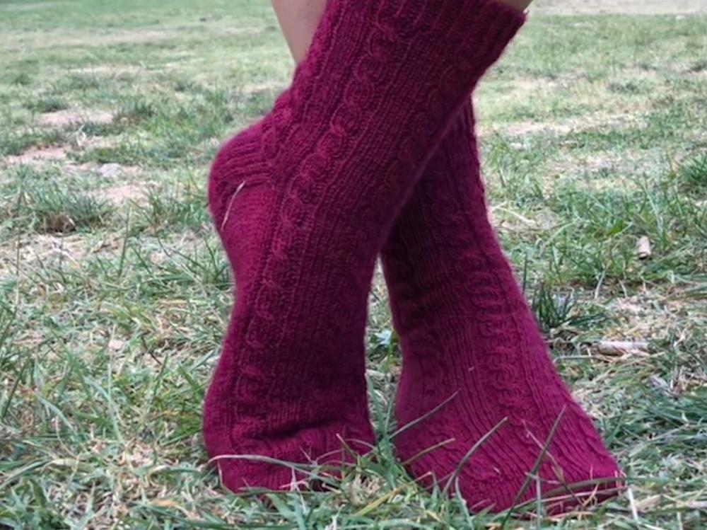 Patrón Trekking socks