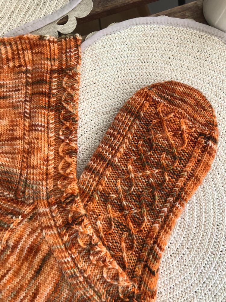 Patrón Autumn Socks