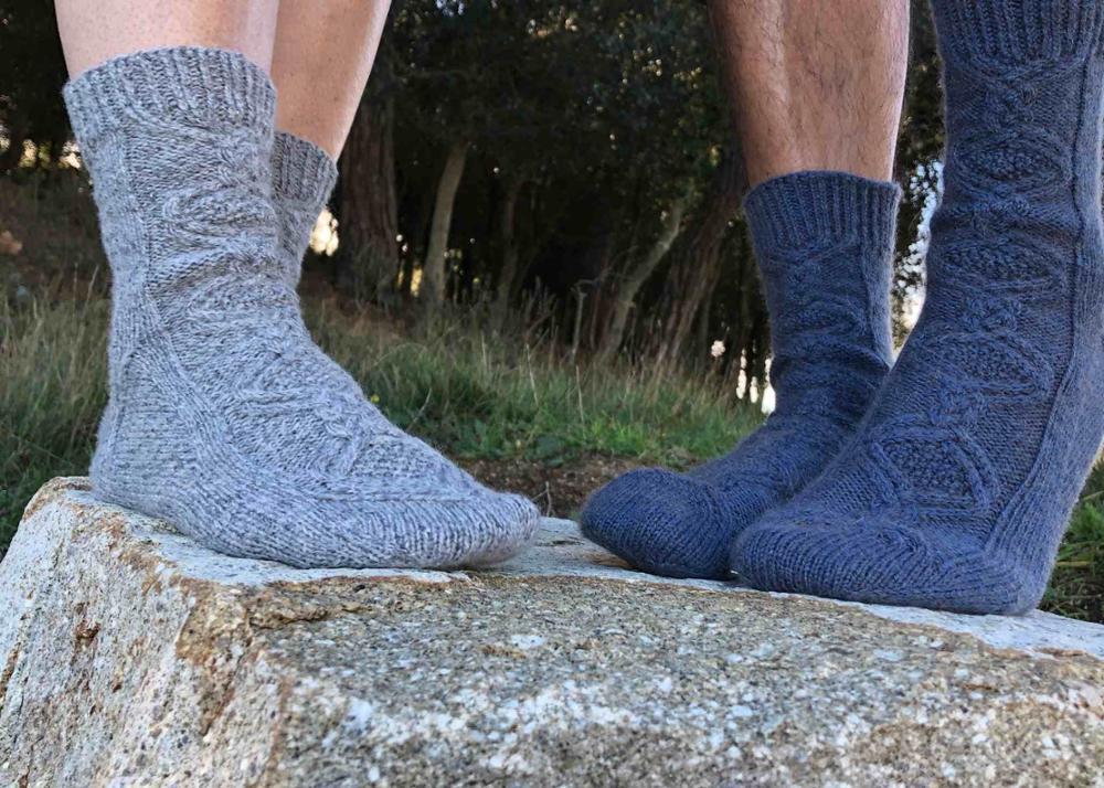 Patrón Winter socks