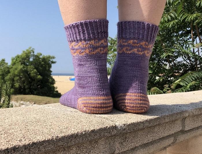 Patrón Summer socks