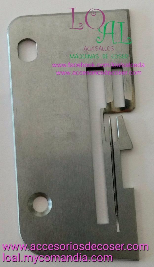PLACA DE AGUJAS ALFA 8701 LETRA S