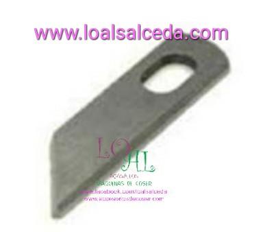 CUCHILLA INFERIOR ALFA 8707 DONNA 700