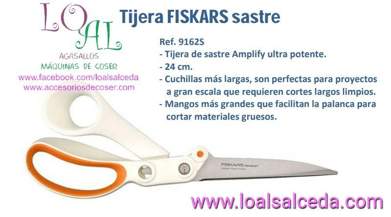 TIJERA DE SASTRE FISKARS 9162S
