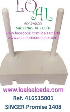 portacarrte maquina de coser singer promise, portacarrete 416515001 , portacarrete singer 1408, portacarrte singer 1306