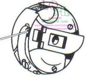 caja bobina canillero maquina de coser refrey 920