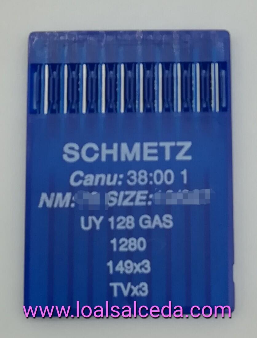 AGUJA UY128 GAS