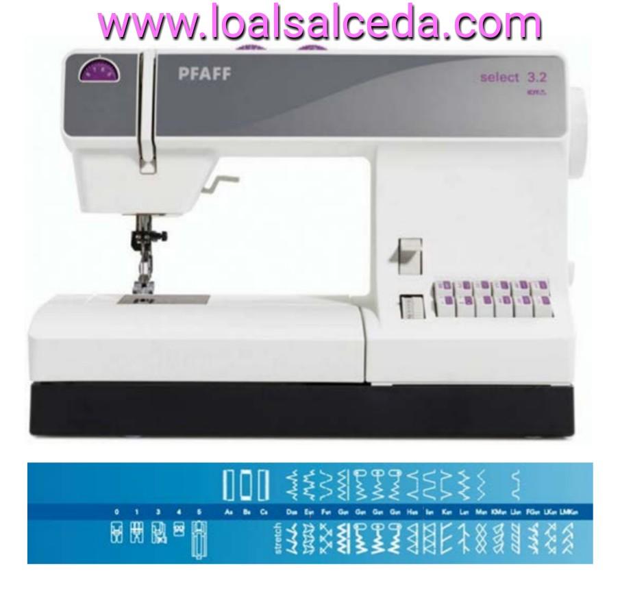 Pfaff select 3.2,maquina de coser doméstica pfaff