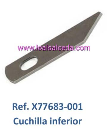 CUCHILLA INFERIOR REMALLADORA BROTHER 925 - 1034