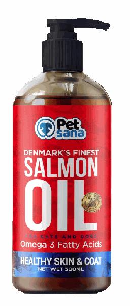 Bote aceite puro de salmon petsana de dapac