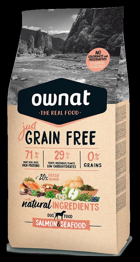 Ownat grain free just salmón y marisco