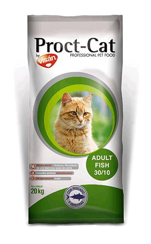 Visán Proct-Cat Gato Adulto Pescado y Vegetales