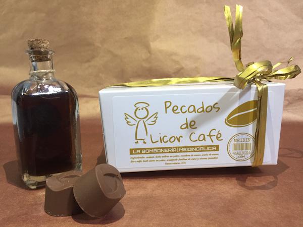 PECADOS DE LICOR CAFÉ