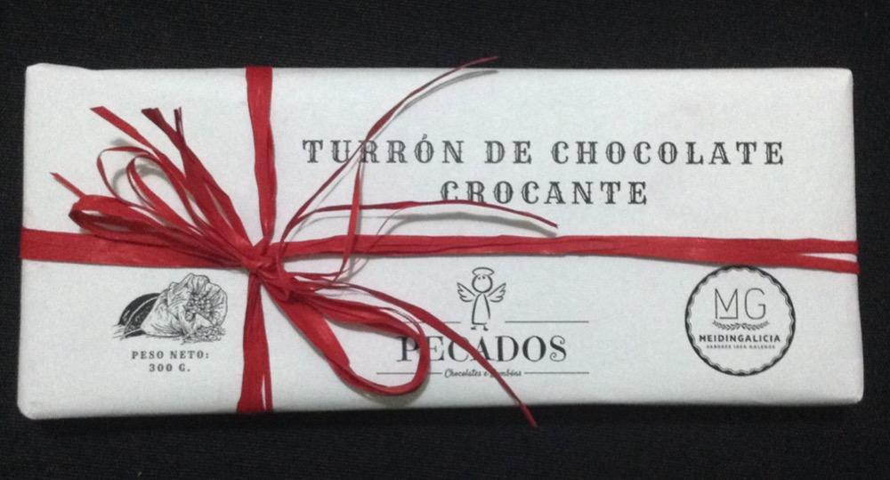 MEIDINGALICIA TURRÓN DE CHOCOLATE CRUJIENTE