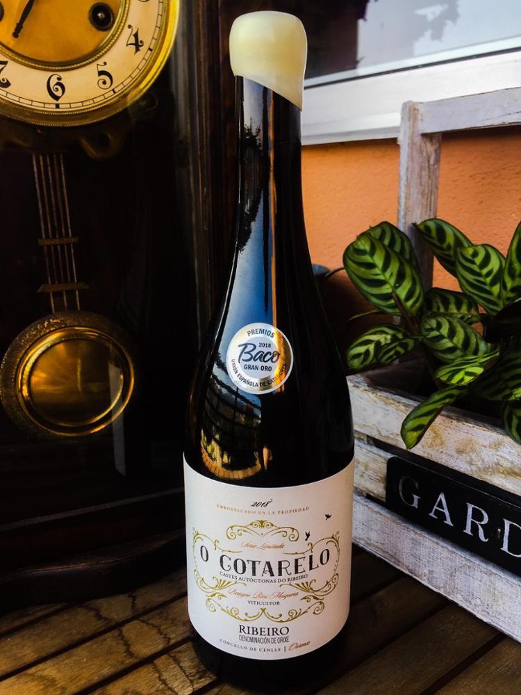 ADEGA O COTARELO Vino Blanco D.O. Ribeiro Cotarelo