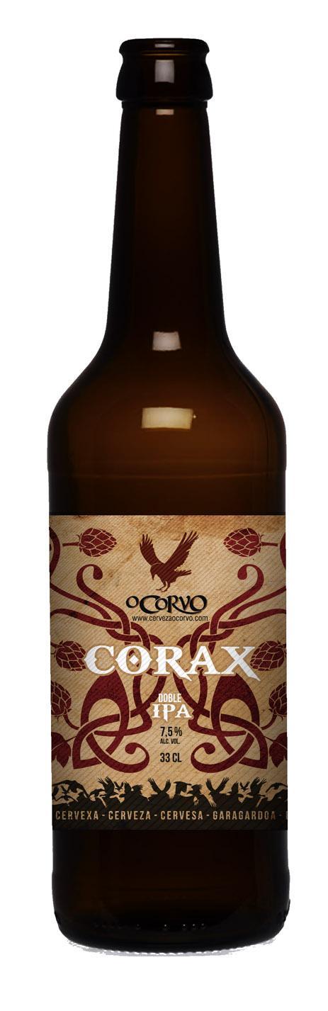 CERVEXAS O CORVO CORAX