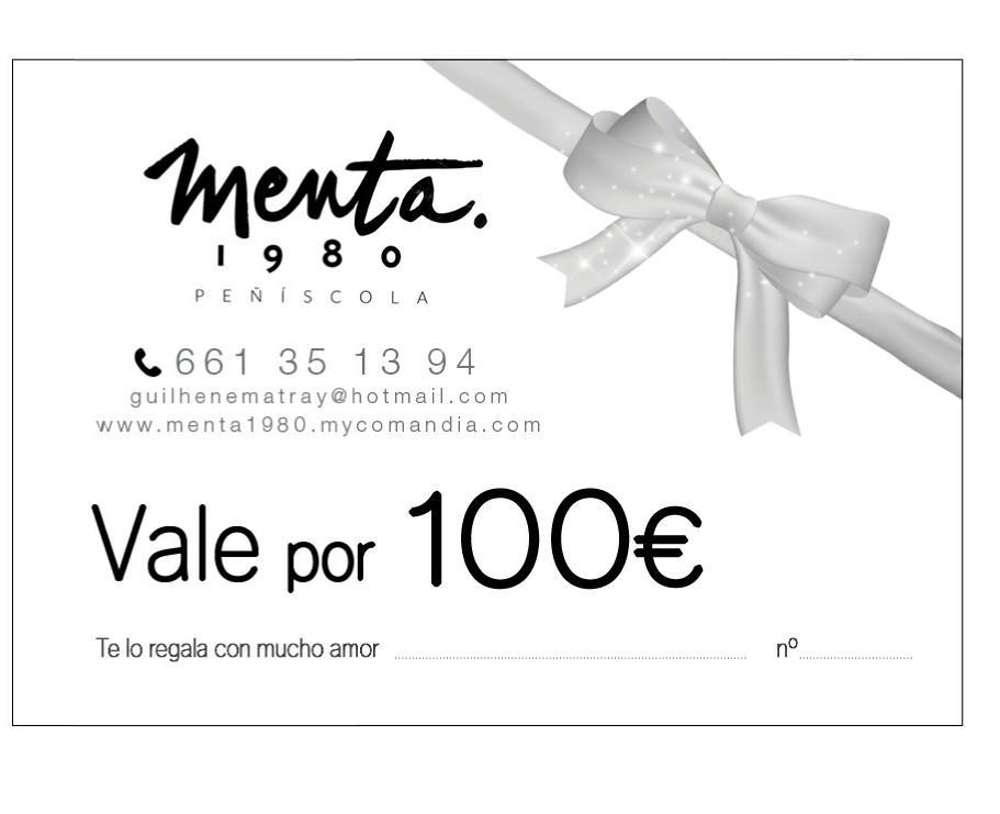 MENTA 1980 VALE REGALO 100€