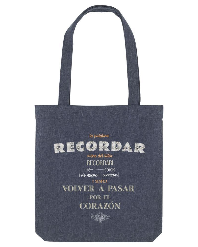 Recordar (bolsa azul denim)