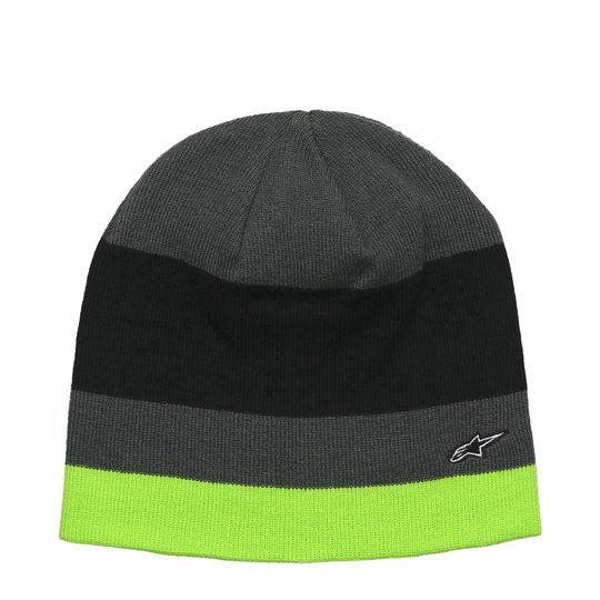 ALPINESTARS Gorro Negro, Gris y Verde Fluo