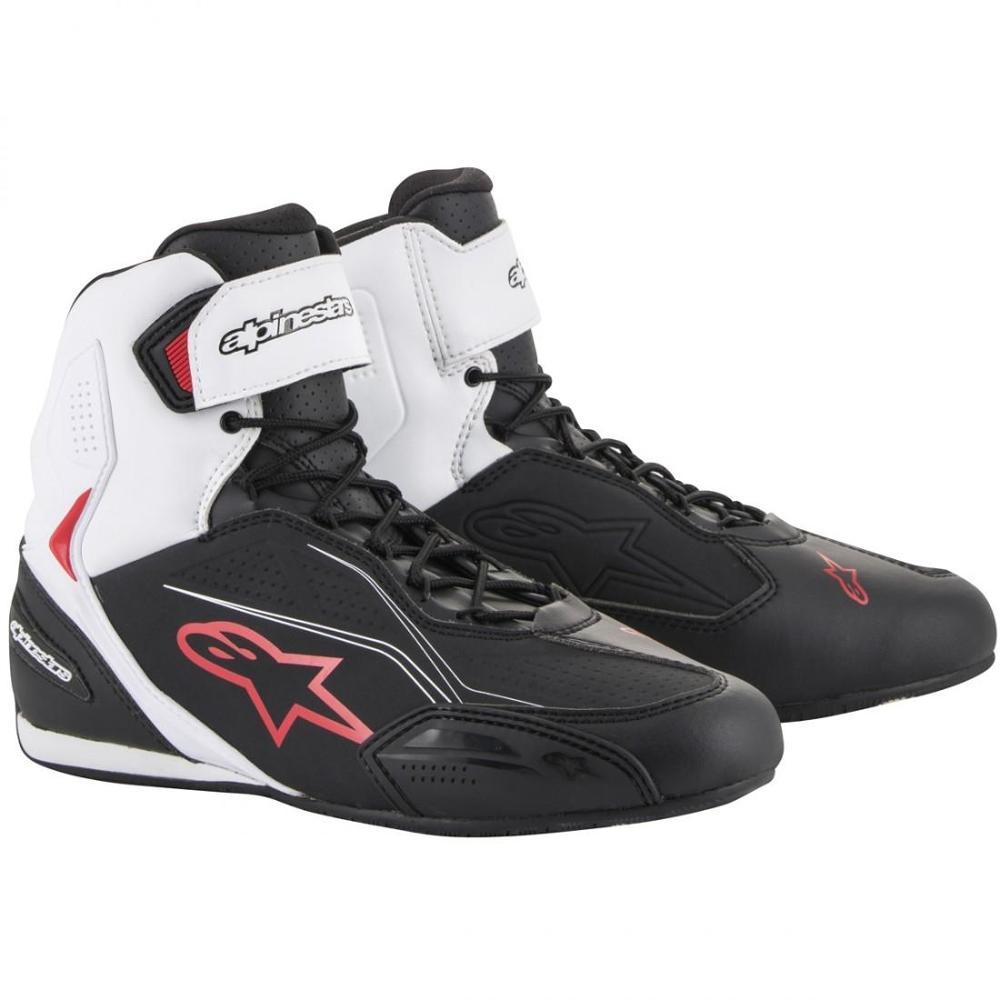 ALPINESTARS Botas Faster-3 Black / White / Red