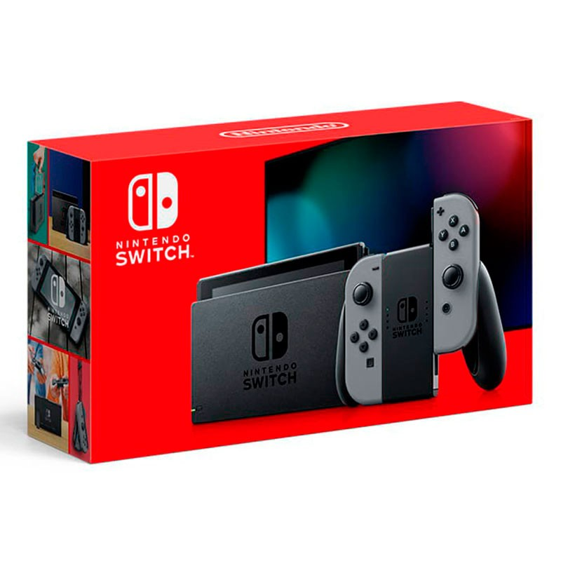 Nintendo Switch Videoconsola Gris Modelo Nuevo 2019