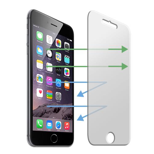 UNOTEC Protector Ocular Cristal Templado iPhone 6 Plus