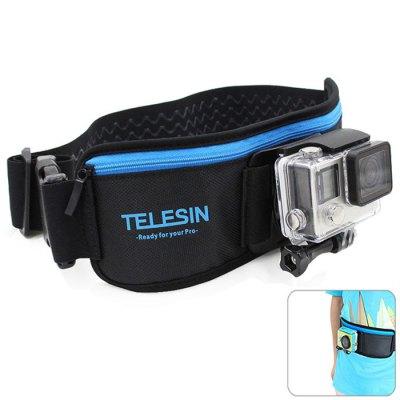 TELESIN Cinturon Deportivo con Soporte para Camaras Deportivas GoPro y Xiaomi YI