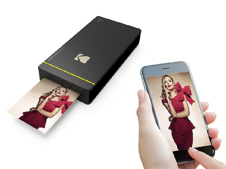 Kodak PM-210 Mini Impresora de Fotos WiFi para iPhone y Android