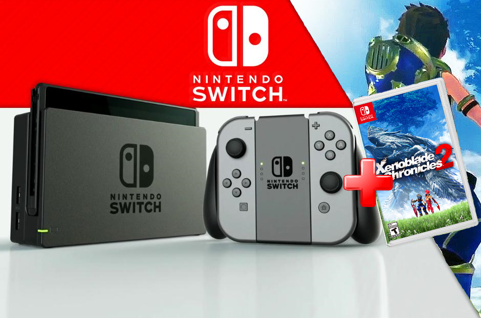 Nintendo Switch Videoconsola + Juego Xenoblade Chronicles 2