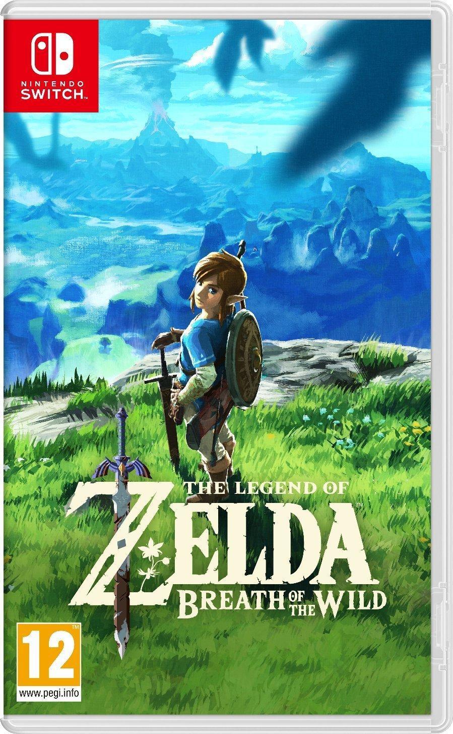 Nintendo Legend of Zelda: Breath of the Wild para Nintendo Switch