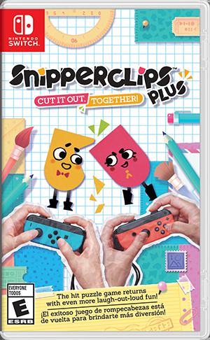 Nintendo SnipperClips Plus para Nintendo Switch