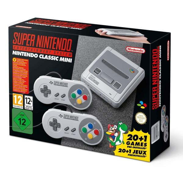 Nintendo Classic Mini Super NES Consola Retro